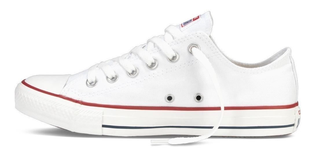 Tenis Converse All Star Clasicas Blancas New Importadas
