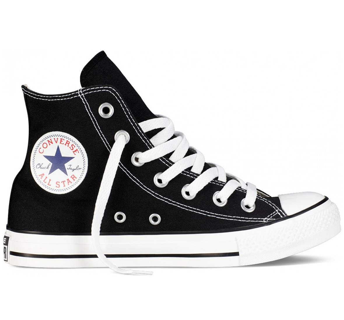 0390e3bd090 tenis converse all star clásico bota negro unisex. Cargando zoom.