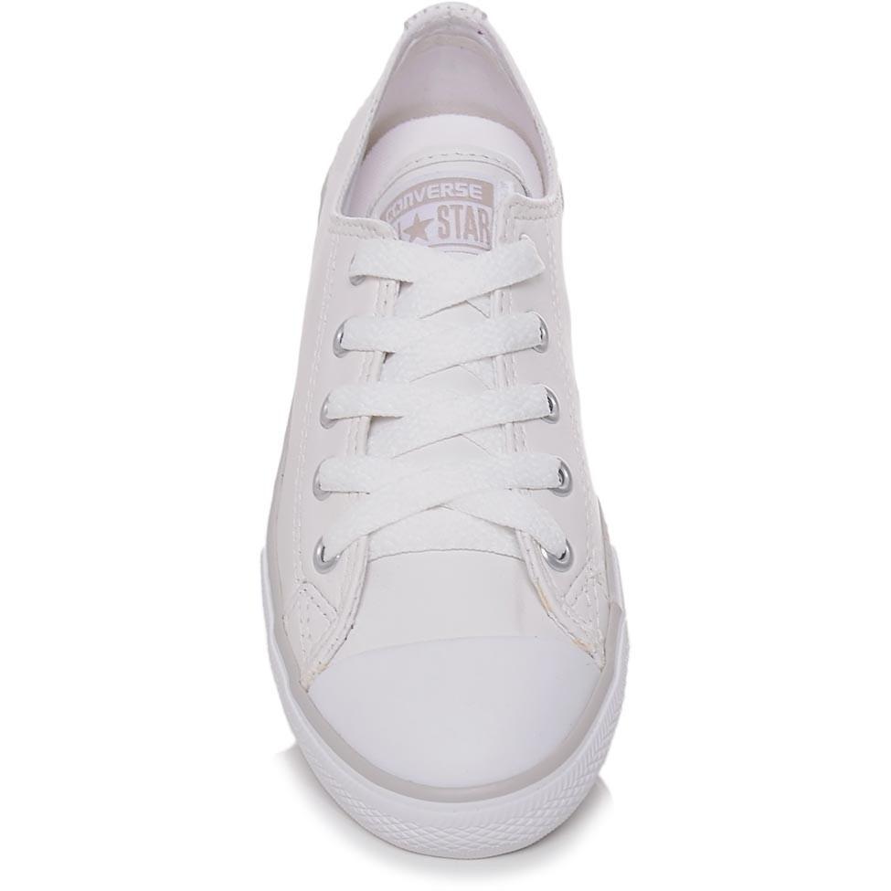 0106c568110 tenis converse all star ct dainty couro - ce405002 branco. Carregando zoom.