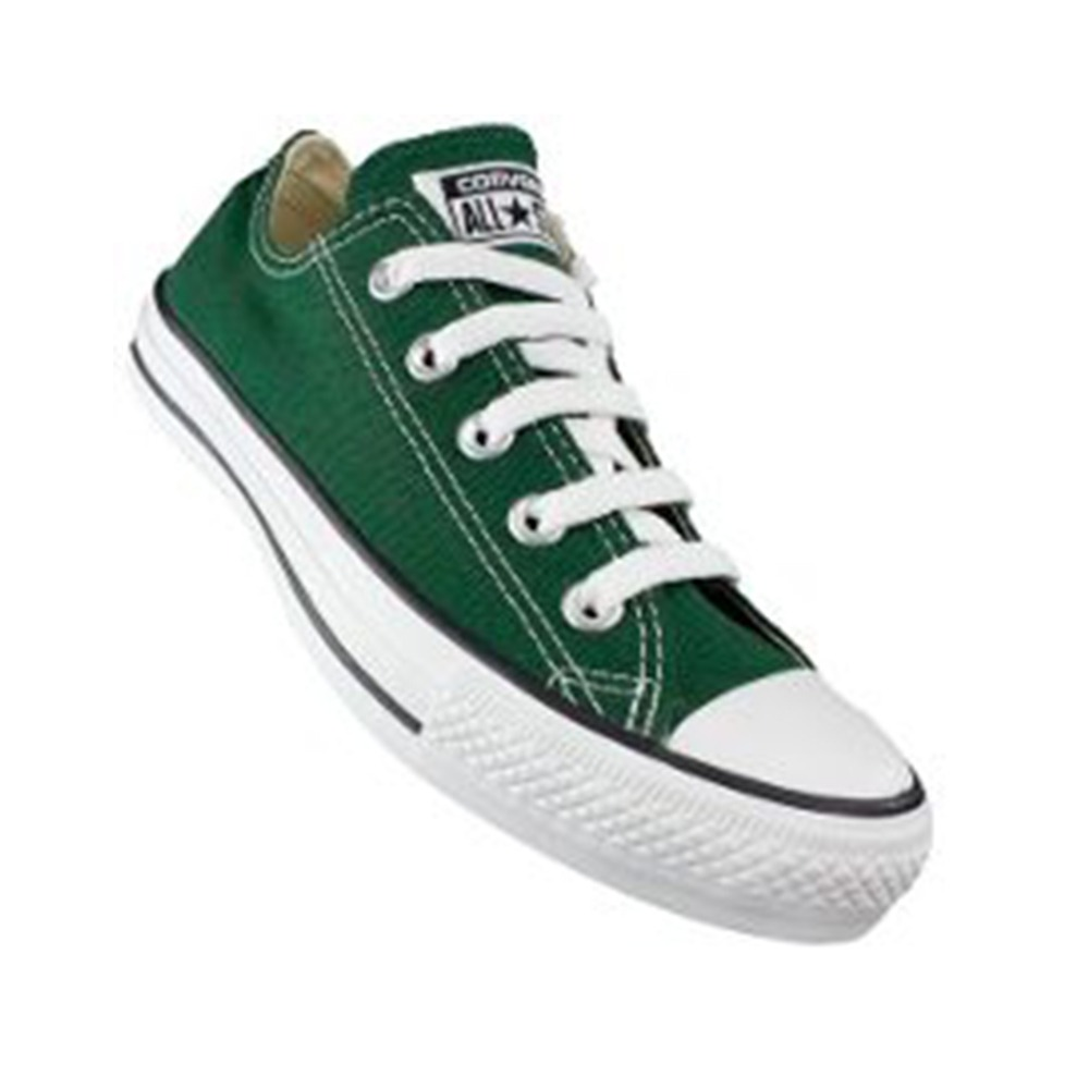 converse mujer verde oscuro