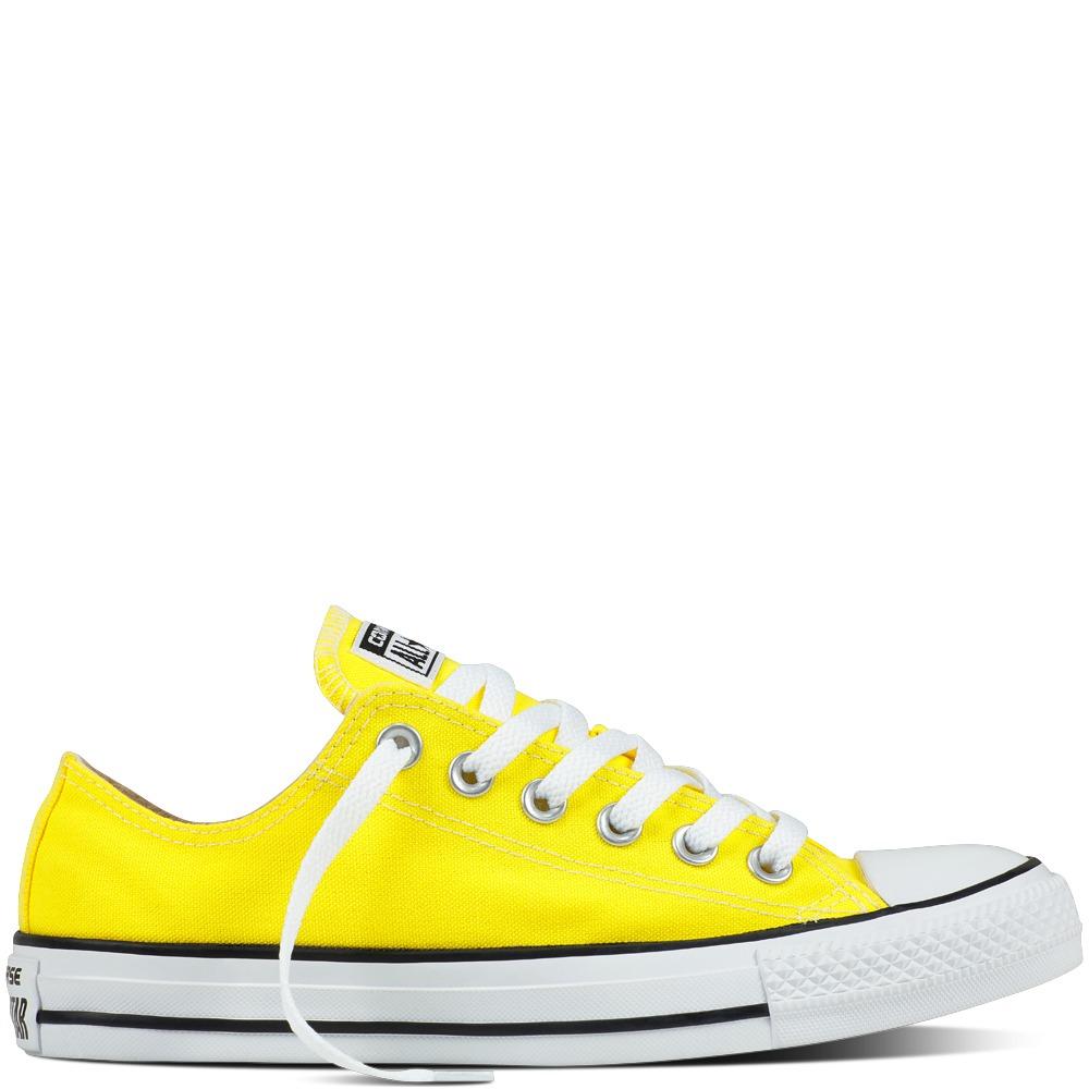converses amarillas
