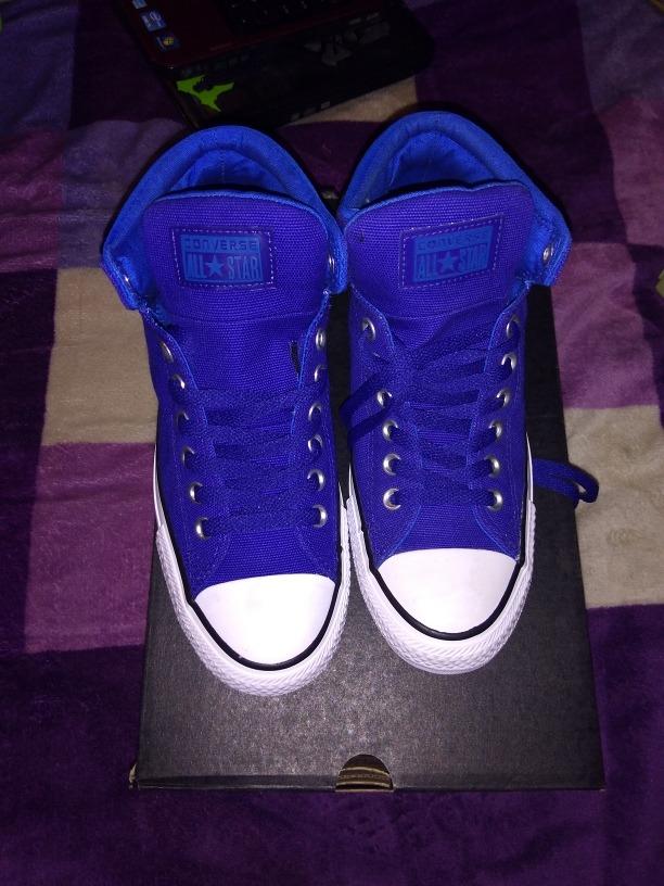 Tenis converse azul rey bota en mercado libre jpg 612x816 Bro color azul rey 96ad184a347