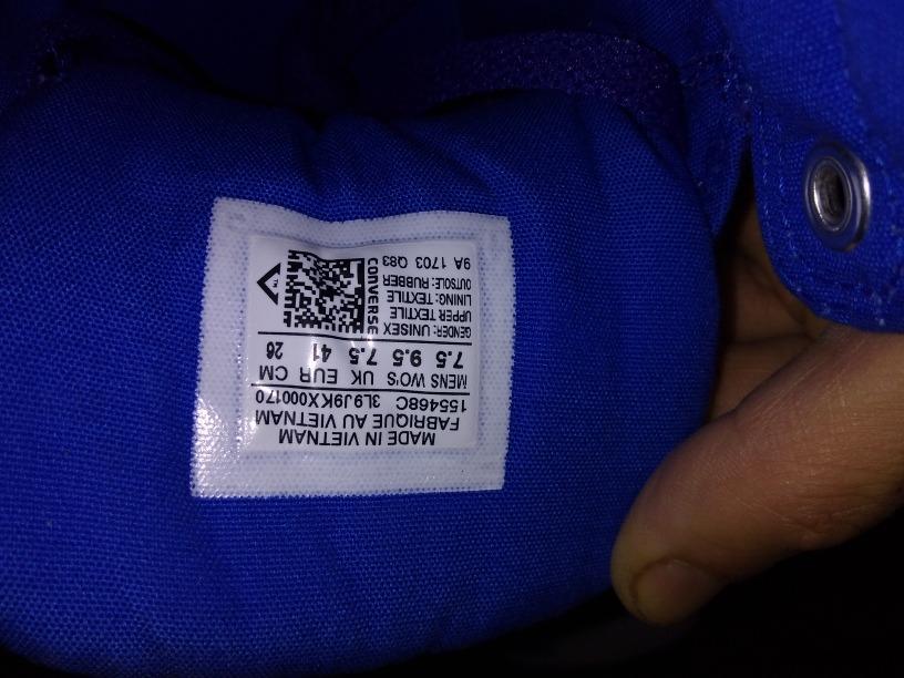 Tenis converse azul rey bota en mercado libre jpg 816x612 Bro color azul rey 1733a142962