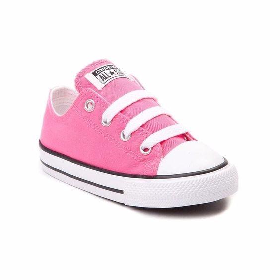converse bebe niña rosa