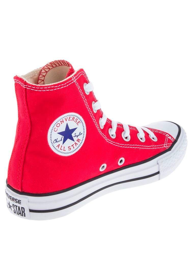 converse all star mujer rojas