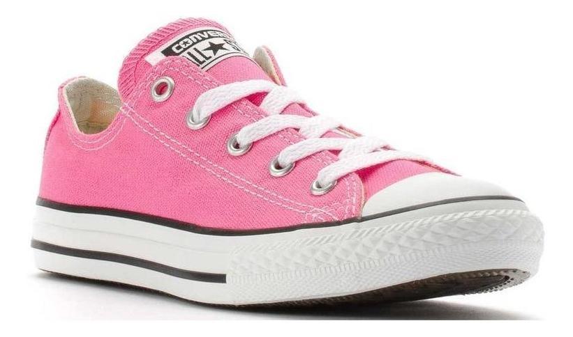converse niño rosa