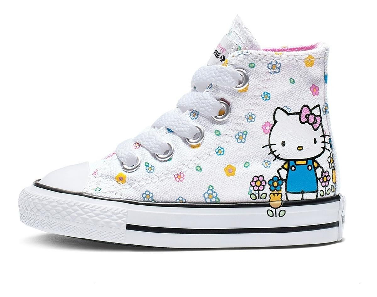 07c9c2a6b Tenis Converse Hello Kitty Chuck Taylor All Star Hi - $ 899.00 en ...