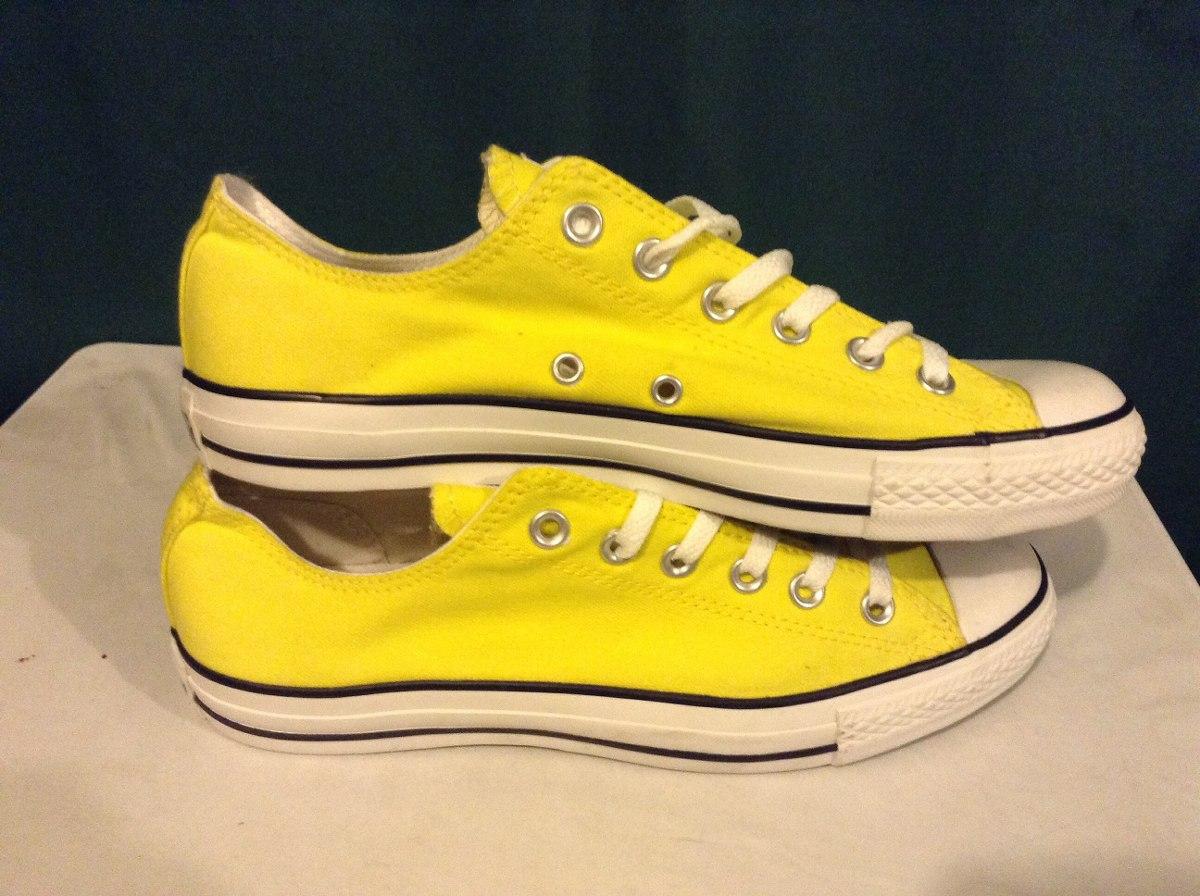 converse originales amarillos
