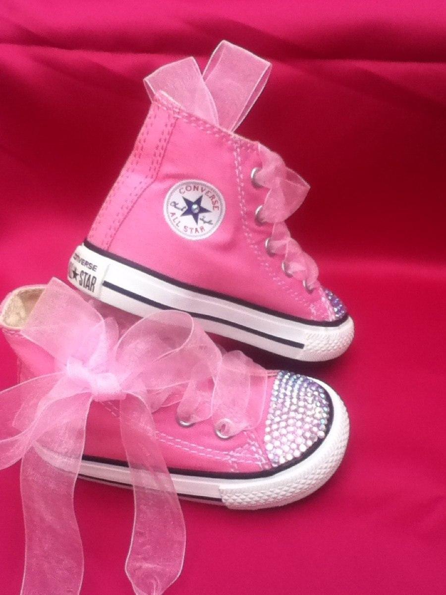 converse rosa bebe