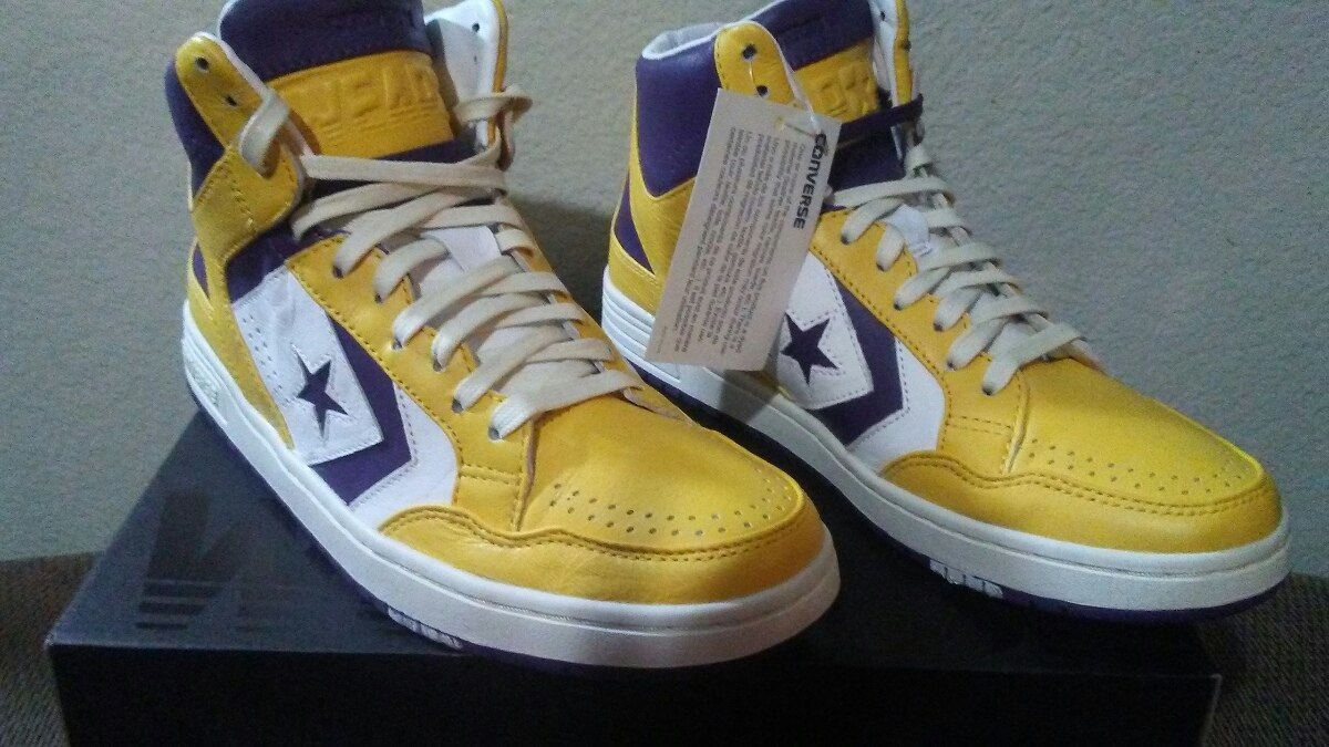 c23fd4c12 Tenis Converse Weapon Lakers. Magic Johnson 9.5us 27.5mx 7.5 ...