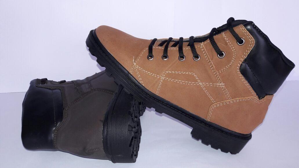 a6a5444f4 tenis costurado bota adventure masculino social camurca. Carregando zoom.