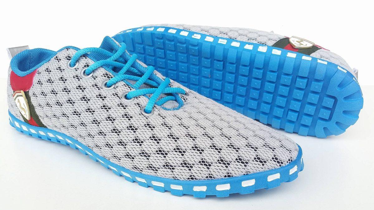 8fbcff4f50b tenis da ferrari cavalino azul claro - atraente e versatil. Carregando zoom.