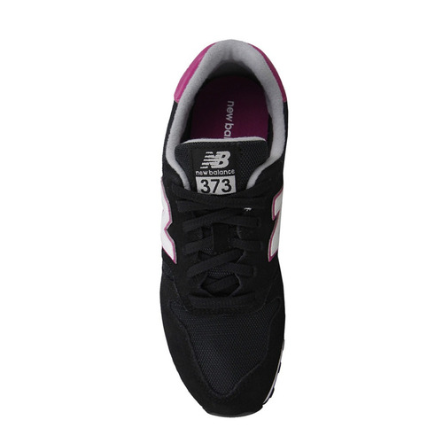 tenis dama lifestyle casual 373 negro/rosa new balance