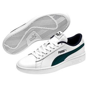 de6785a4 Tenis Puma Blanco Con Verde - Ropa, Bolsas y Calzado en Estado De ...
