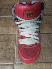 36625eb0609 Tenis Vans Vermelho Vinho Cano Alto - Tênis para Feminino no Mercado ...
