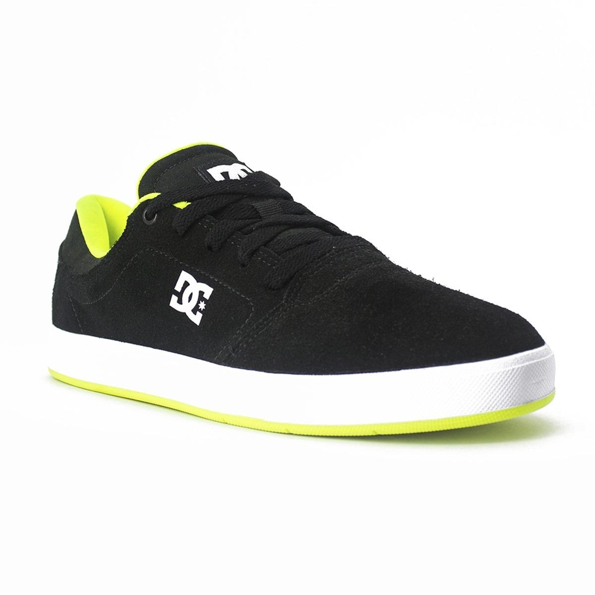 tenis dc shoes crisis la black lime original frete gratis. Carregando zoom. 07b6fad13acce