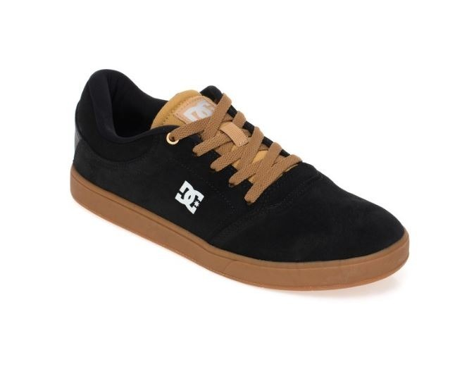 Tenis Dc Shoes Crisis La Brown black Original Frete Gratis - R  209 ... ef2bbb450d607