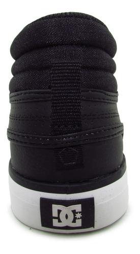 tenis dc shoes evan hi womens adjs300147 blw black whi piel