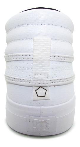 tenis dc shoes evan hi womens adjs300147 wg1 white gold piel