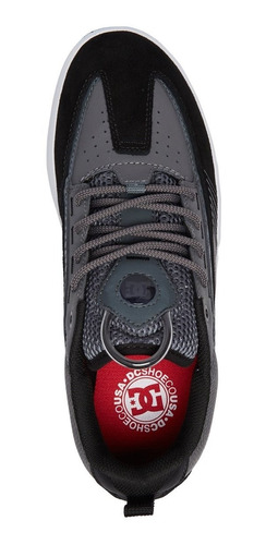tenis dc shoes legacy 98 slim black grey original