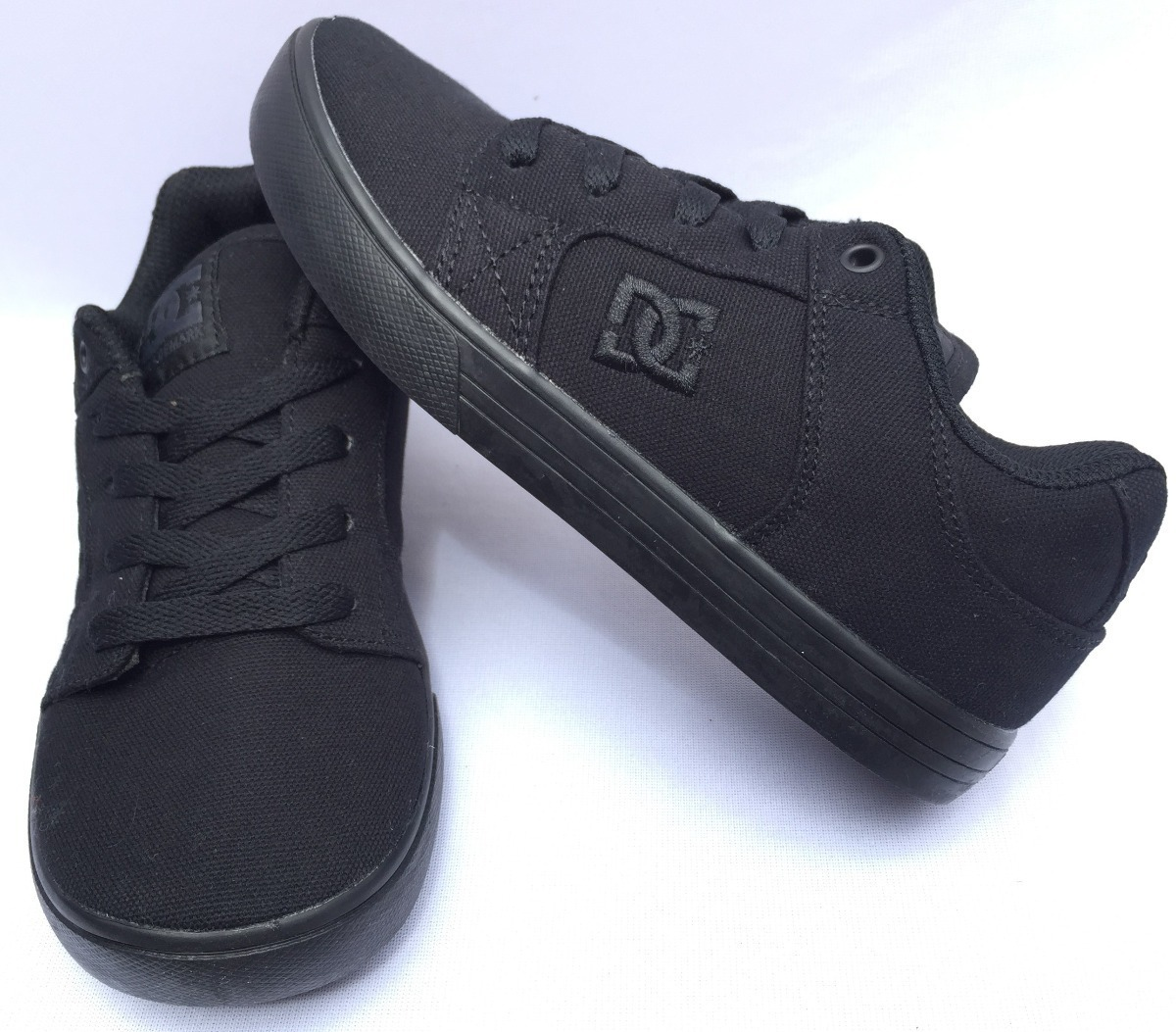c9a67999a6e Tenis Dc Shoes Method Textil Negro Talla 22- 22.5cm -   449.00 en ...