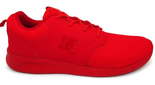 tenis dc shoes midway sn mx adys700136 xrrr red rojo