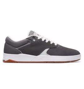 7020f530330 Tenis Dc Shoes Tiago S Imp Grey white Original Frete Gratis