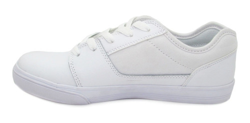 tenis dc shoes tonik youth adbs300262 103 white blanco piel