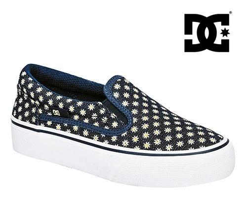 Tenis Dc Shoes Trase Slip On Mujer Mezclilla 22-25 W73885 ... 156c0bf2a8091