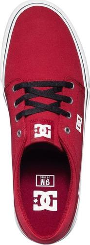 tenis dc shoes trase textil talla 30cm