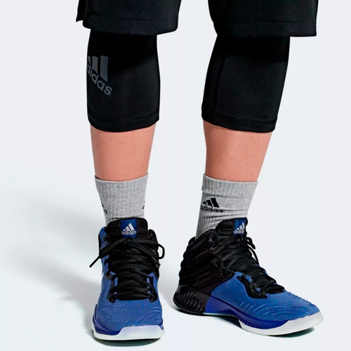 tenis de basquetbol mad bounce 2018 hombre adidas ac7428