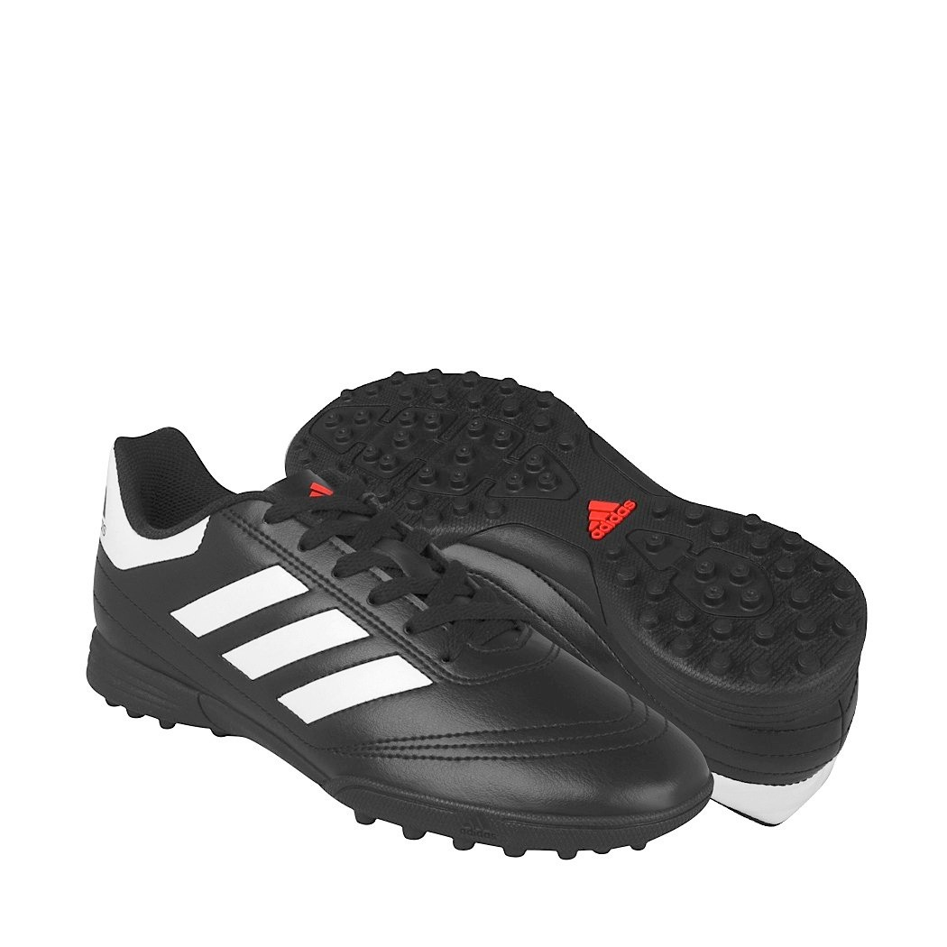 factory authentic eaac4 ecc1f tenis de fútbol adidas adolescentes simipiel negro aq4304. Cargando zoom.