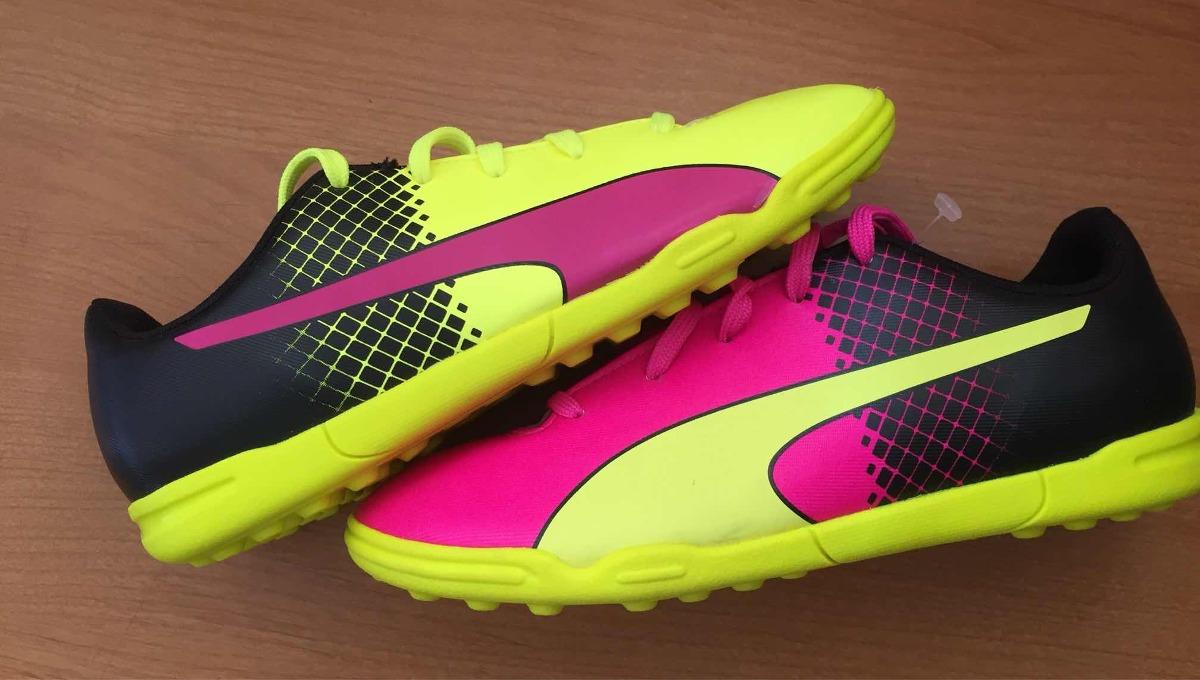 0bdc882cef502 Tenis De Fútbol Puma Evo Speed De Niño -   749.00 en Mercado Libre