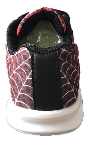 tenis de led infantil do homem aranha menino juvenil barato masculino barato promoção luz luzinha