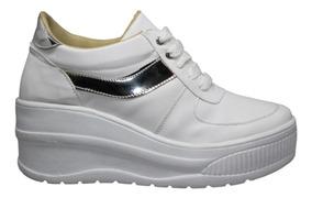 100% genuino mas bajo precio material seleccionado Tenis De Moda Mujer Plataforma 6 Cm Sneakers Ligeros Dama Bl