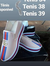49594873bb1d6 Tenis Gucci Feminino - Tênis com o Melhores Preços no Mercado Livre Brasil