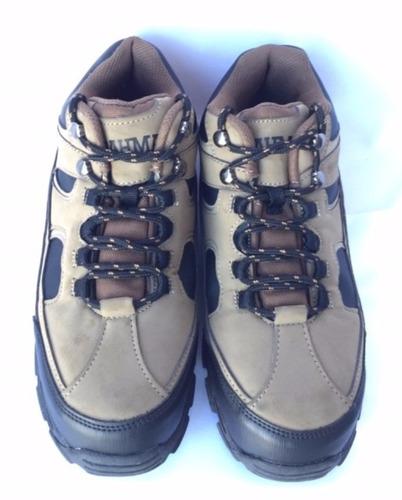 tenis de seguridad zapato brahma punta fierro