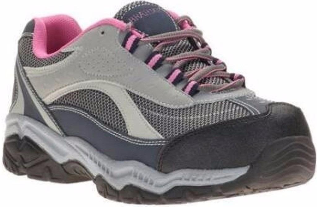 tenis de seguridad zapato brahma punta fierro dama 795