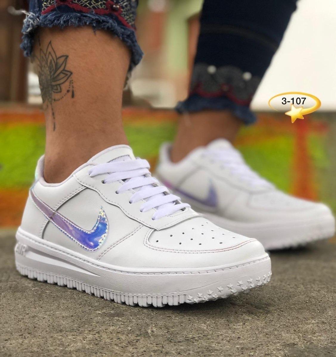 Tenis Deportivo Nike Arcoiris Para Dama,oferta, Envío Gratis