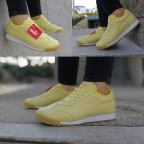 puma mujer amarillo