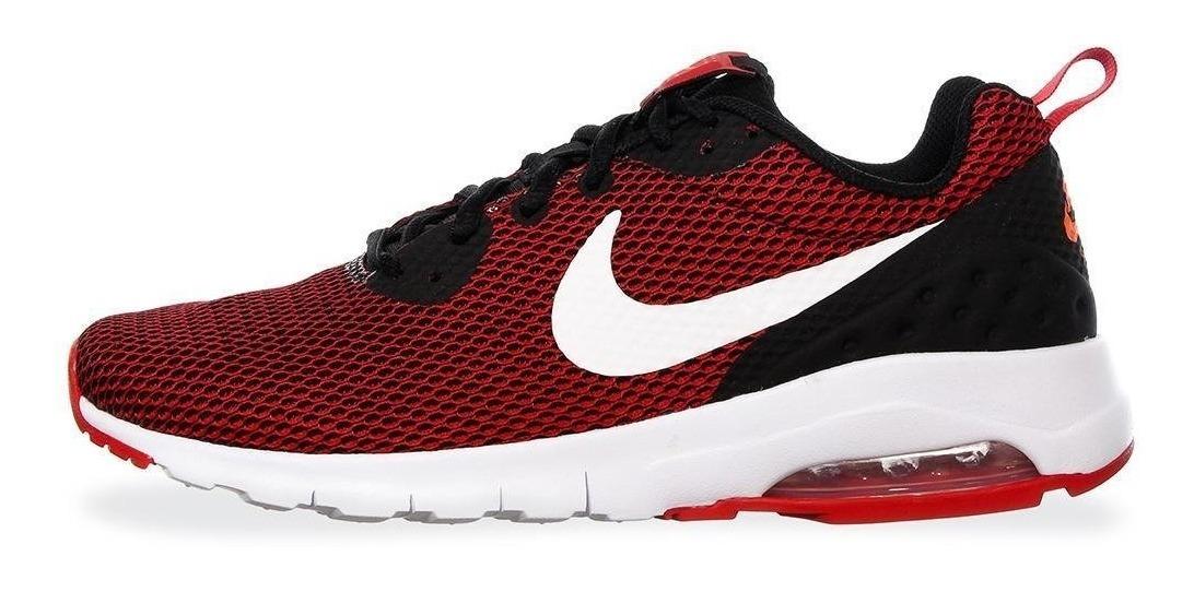 Tenis Deportivo Hombre Nike Air Max Motion Lw Mesh Rojo 001