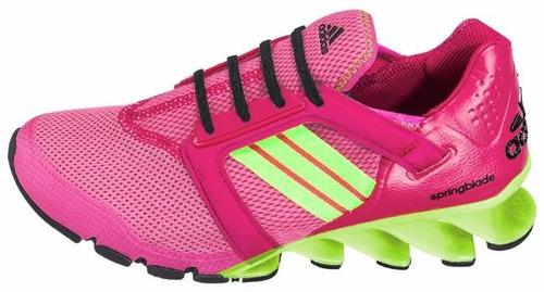 tenis deportivo para dama marca adidas springblade w 5254
