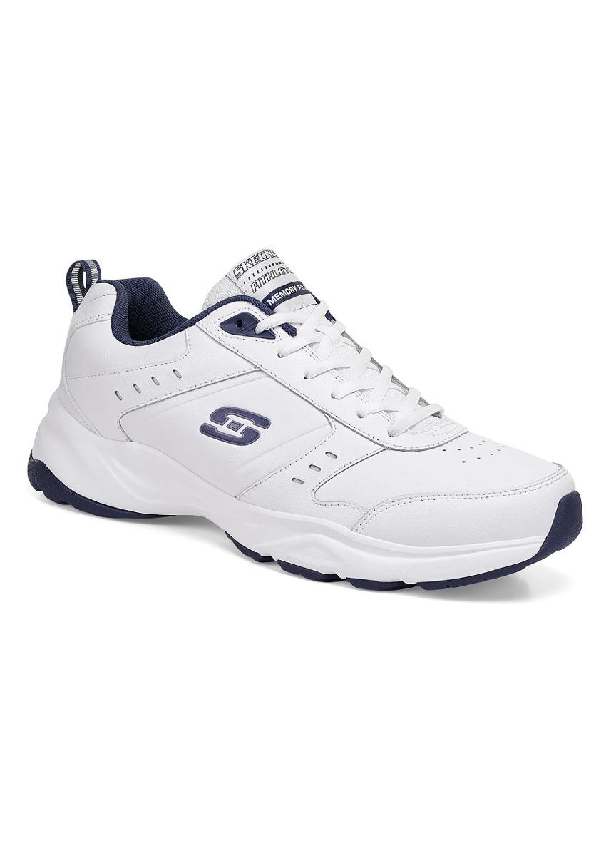 233b51d1 Tenis Deportivo Udt Blanco Skechers Hombre Piel J80265 - $ 1,370.00 ...
