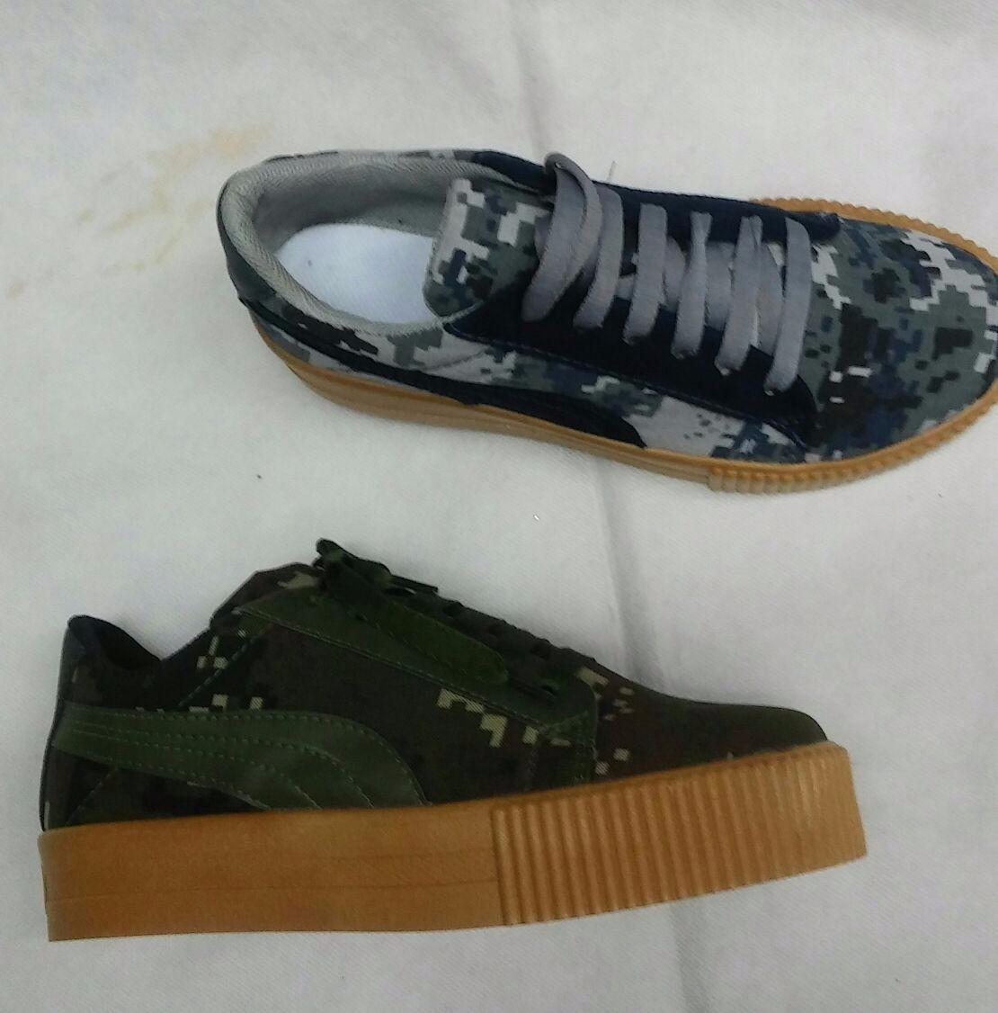 aa03abd46c8 tenis deportivo zapato moda camuflado militar de moda mujer. Cargando zoom.