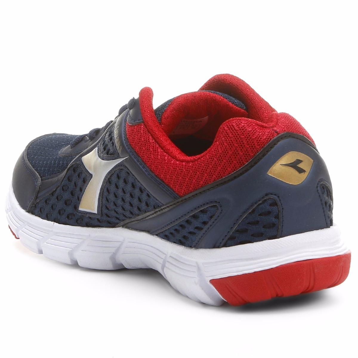 20ad1389820 tenis diadora easy run ii masculino azul vermelho. Carregando zoom.