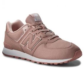 a2c11d68a9c Tenis New Balance Feminino 574 Rosa - Calçados