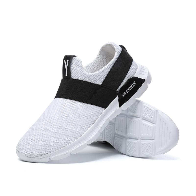Tenis Fashion Calzado Para Deportivo Para Calzado Hombre Color Blanco 32c452