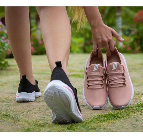 tenis feminino academia barato caminhada corrida esportivo