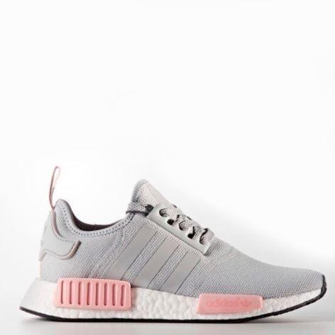 2adidas cinza e rosa