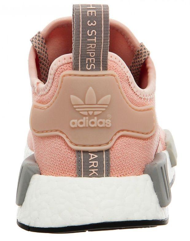 58d652312b Tenis Feminino adidas Nmd Rosa cinza Original Top Na Caixa - R  399 ...